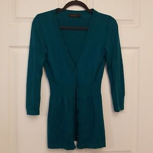The Limited Teal sweater